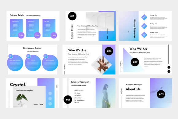 Download Free Crystal Powerpoint Presentation Grafico Por Tmint Creative Fabrica SVG Cut Files