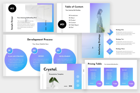 Crystal Powerpoint Presentation Graphic Presentation Templates By TMint - Image 4