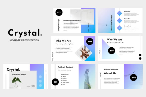 Crystal Powerpoint Presentation Graphic Presentation Templates By TMint - Image 5
