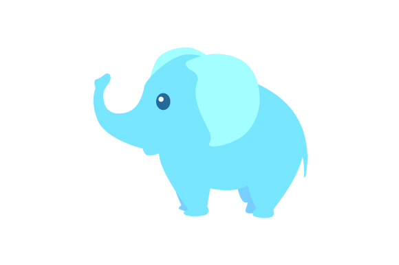 Download Free Cute Elephant Svg Cut File By Creative Fabrica Crafts Creative for Cricut Explore, Silhouette and other cutting machines.