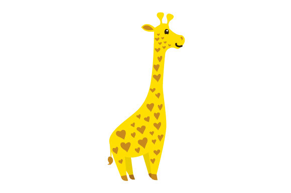 Cute Giraffe Craft Design By Creative Fabrica Crafts