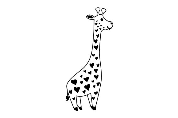 Cute Giraffe Wall Art Craft Cut File By Creative Fabrica Crafts - Image 2