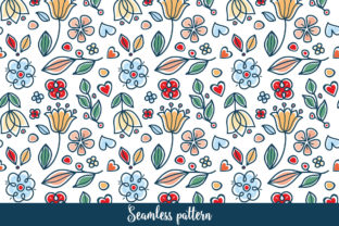 Print on Demand: Cute Twigs with Leaves Seamless Pattern Graphic Patterns By zoyali