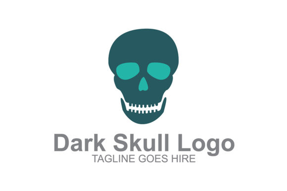 Download Free Dark Skull Logo Icon Graphic By Guardesign Creative Fabrica for Cricut Explore, Silhouette and other cutting machines.