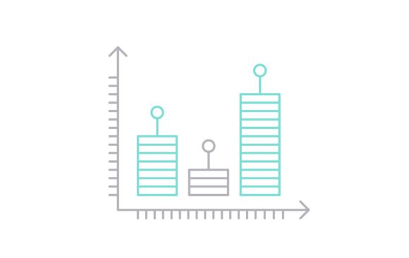 Print on Demand: Data Report Graphic Icons By Iconika
