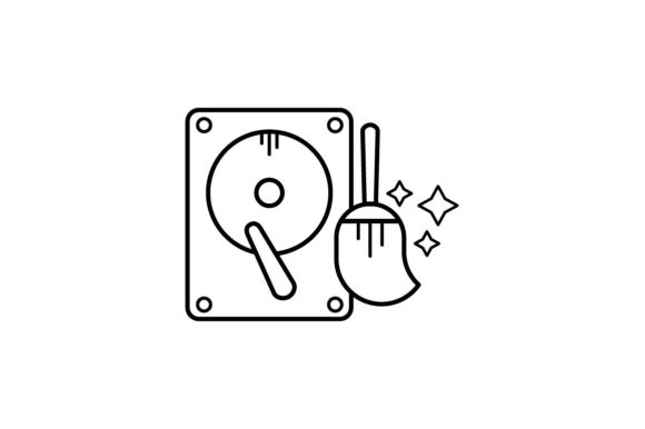 Print on Demand: Data Clean Graphic Icons By khld939