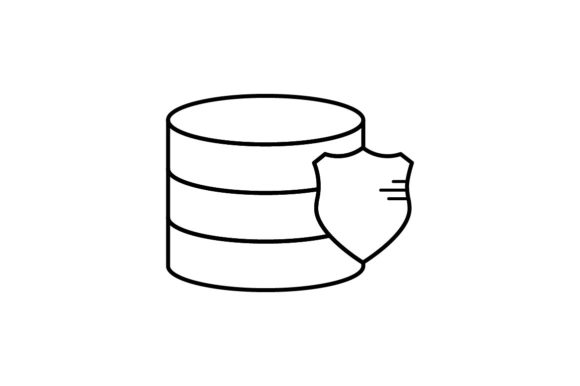 Print on Demand: Data Protection Graphic Icons By khld939