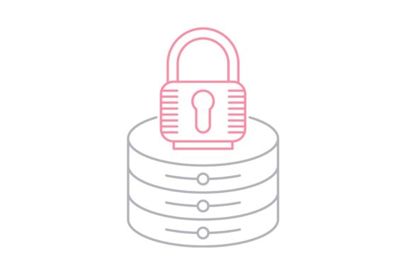 Print on Demand: Data  Security Graphic Icons By Iconika