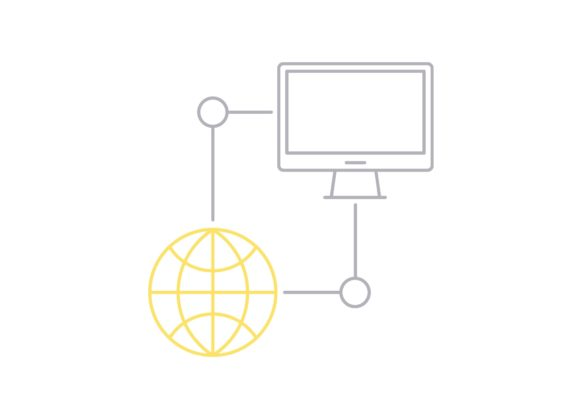 Print on Demand: Database Network Graphic Icons By Iconika