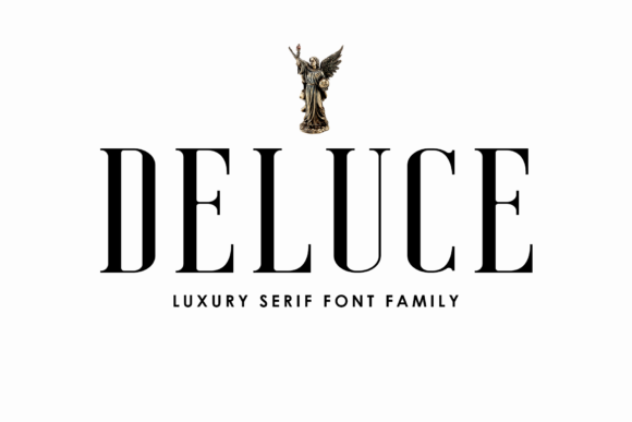 Print on Demand: Deluce Serif Font By craftsupplyco