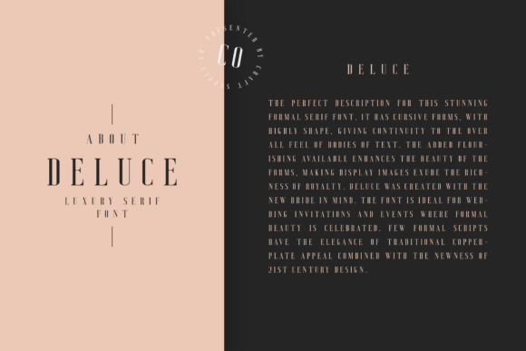 Print on Demand: Deluce Serif Font By craftsupplyco - Image 8