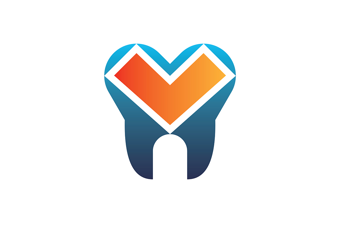 Download Free Dental Logo Vector Graphic By Acongraphic Creative Fabrica for Cricut Explore, Silhouette and other cutting machines.