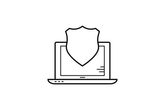 Print on Demand: Device Protection Graphic Icons By khld939