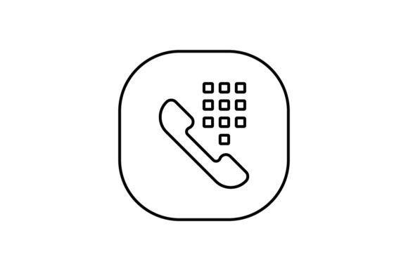 Print on Demand: Dialer Graphic Icons By khld939