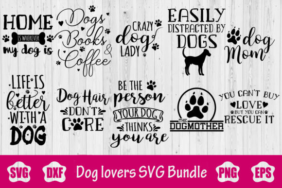 Dog SVG Bundle Graphic Crafts By creativespace