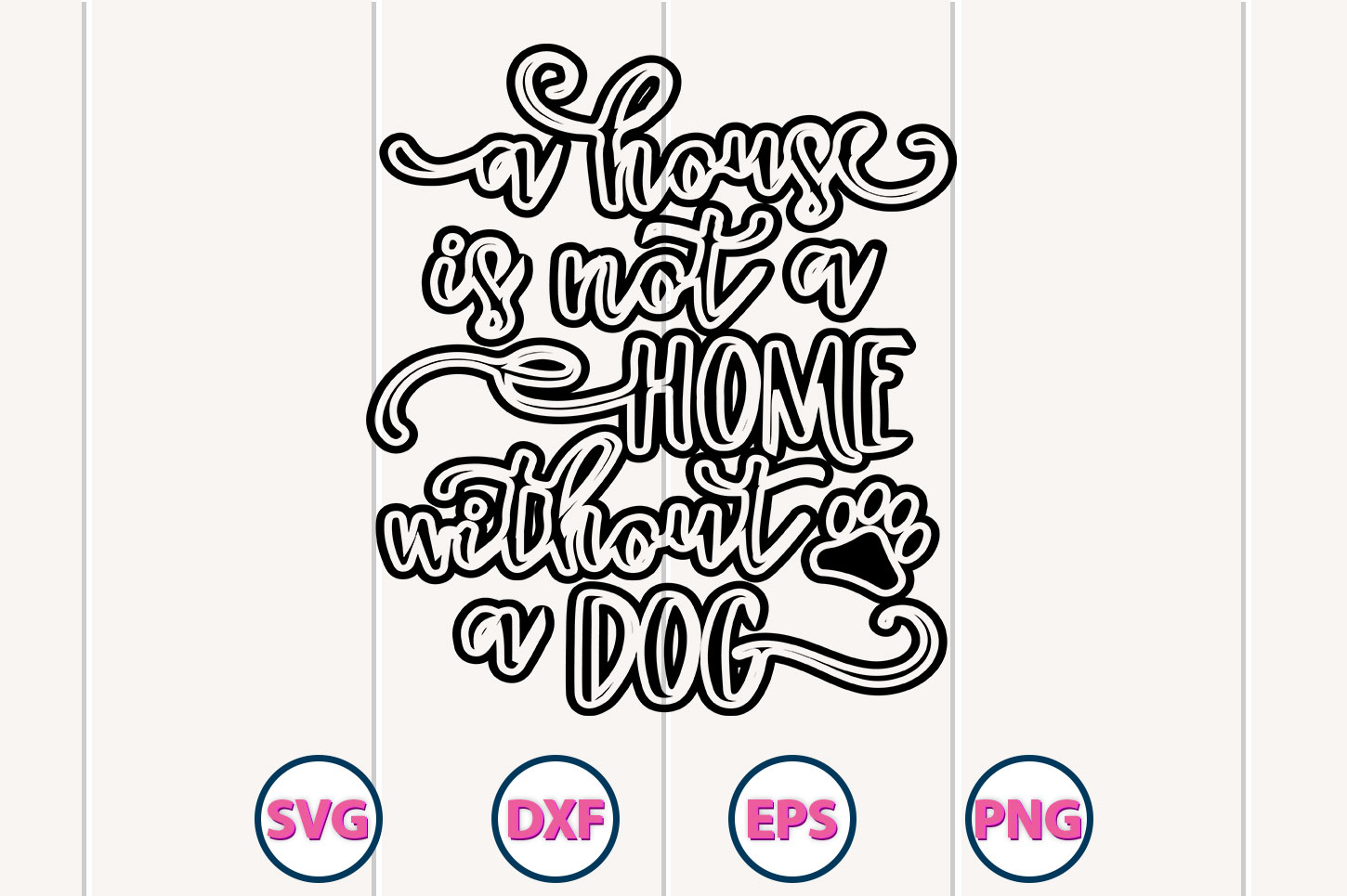 Download Free Dog File Graphic By Graphiccycle Creative Fabrica for Cricut Explore, Silhouette and other cutting machines.
