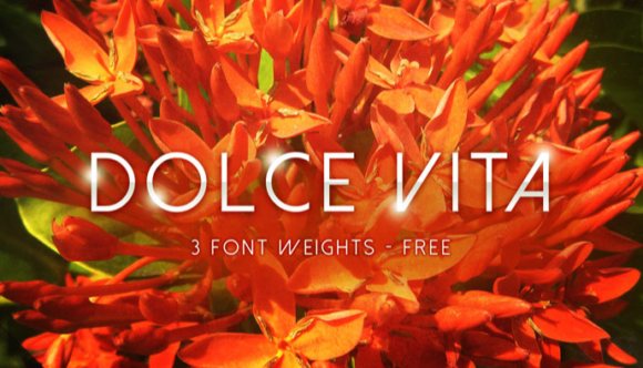 Print on Demand: Dolce Vita Script & Handwritten Font By Creative Fabrica Freebies