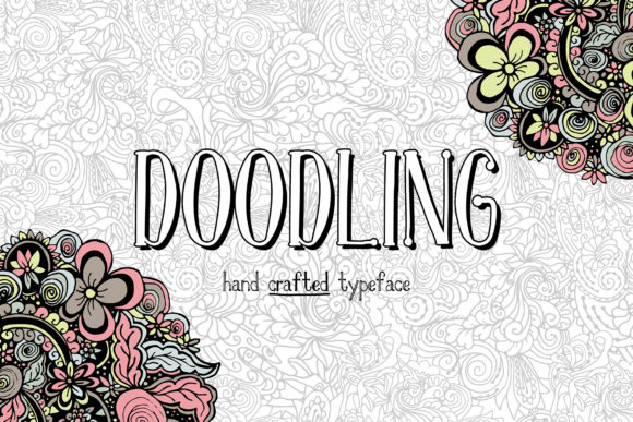 Print on Demand: Doodling Family Serif Font By ilonitta.r