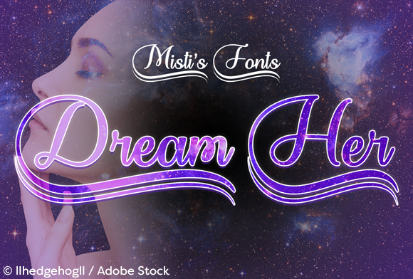 Print on Demand: Dream Her Script & Handwritten Font By Misti
