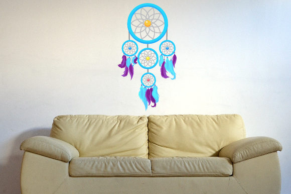 Dreamcatcher, Fits 23x39 Inch Wall Art Craft Cut File By Creative Fabrica Crafts