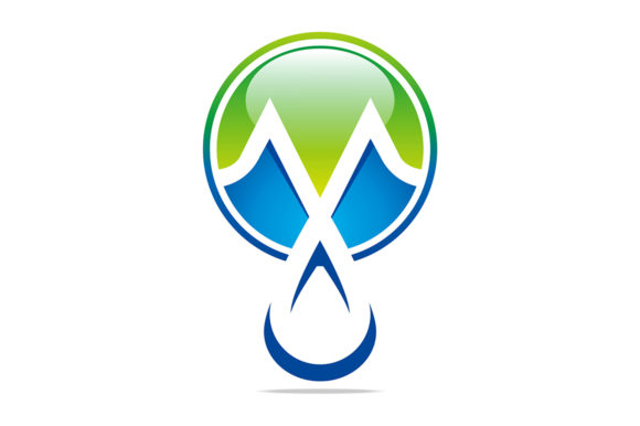 Drop Water Logo Graphic Logos By Acongraphic