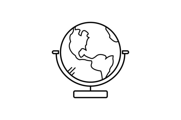 Print on Demand: Earth Graphic Icons By khld939