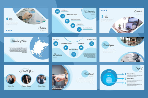 Elphine Powerpoint Presentation Graphic Presentation Templates By TMint - Image 3