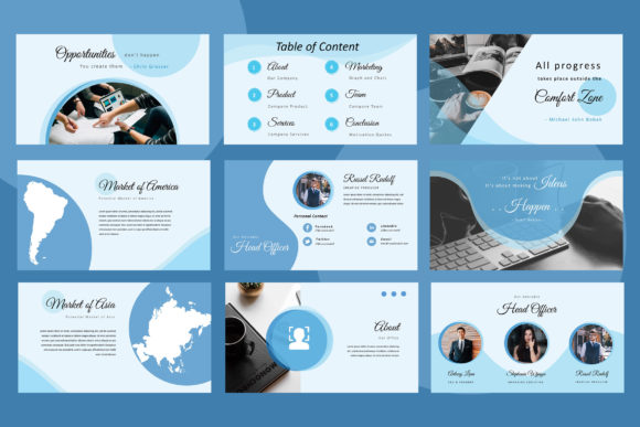 Elphine Powerpoint Presentation Graphic Presentation Templates By TMint - Image 4