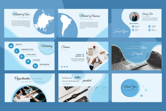 Elphine Powerpoint Presentation Graphic Presentation Templates By TMint - Image 5