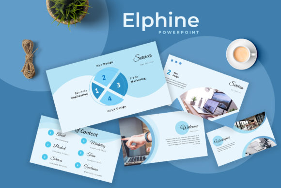 Elphine Powerpoint Presentation Graphic Presentation Templates By TMint - Image 1
