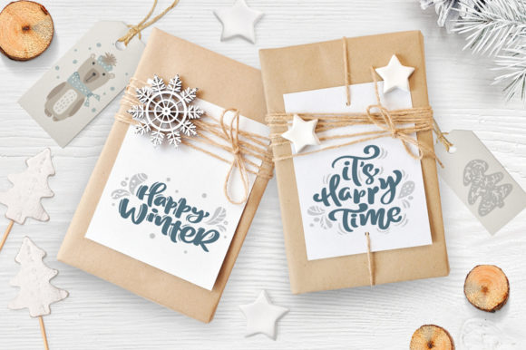 Enjoy Xmas Scandinavian Christmas Design Graphic By Happy Letters Image 8