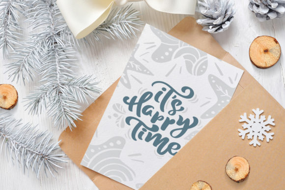 Enjoy Xmas Scandinavian Christmas Design Graphic By Happy Letters Image 9