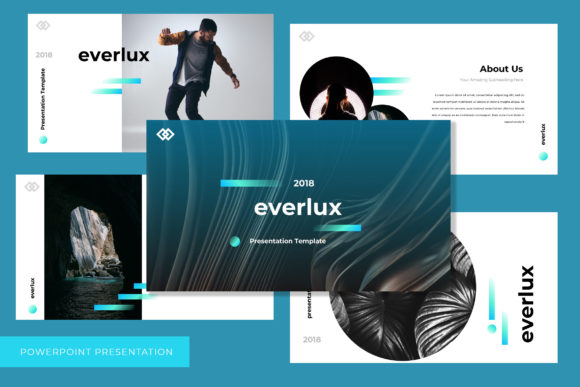Everlux Powerpoint Presentation Graphic By TMint