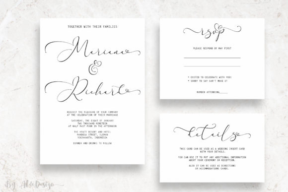 Print on Demand: Everything Script & Handwritten Font By aldedesign - Image 2
