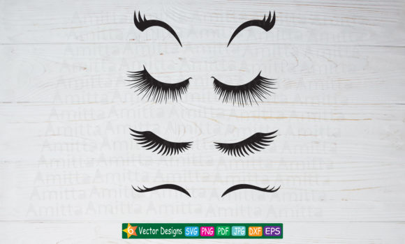 Print on Demand: Eyelashes  Graphic Illustrations By Amitta