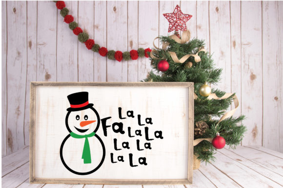Download Free Fa La La La La Deck The Halls Christmas Svg Cut File Graphic for Cricut Explore, Silhouette and other cutting machines.