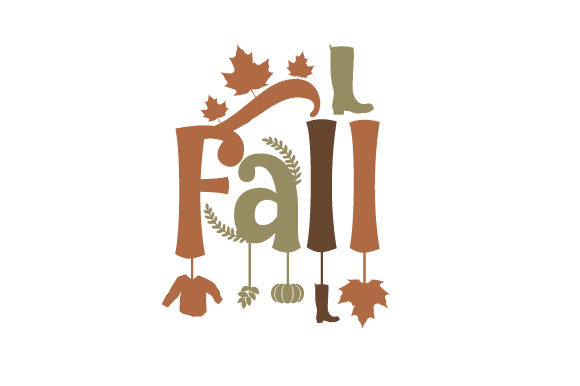 Fall Otoño Archivo de Corte Craft Por Creative Fabrica Crafts
