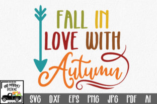 Fall in Love with Autumn Graphic By oldmarketdesigns
