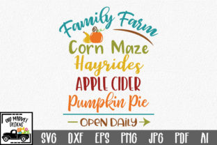 Family Farm SVG Graphic By oldmarketdesigns
