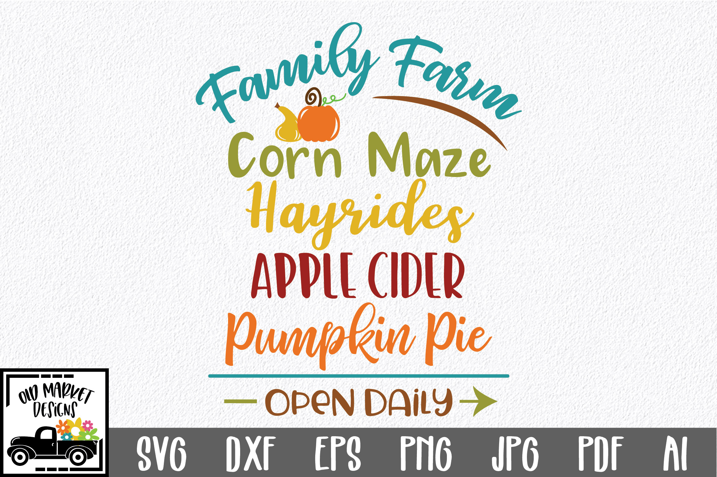Download Free Family Farm Graphic By Oldmarketdesigns Creative Fabrica for Cricut Explore, Silhouette and other cutting machines.