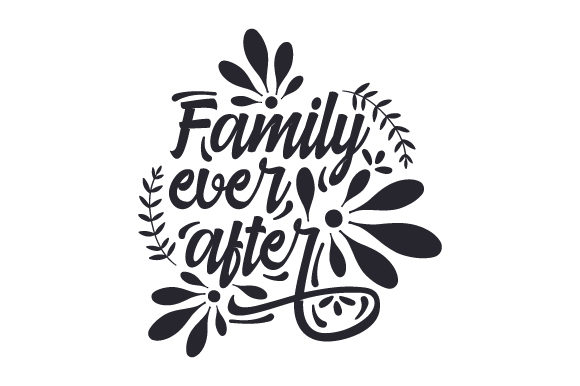 Family Ever After Adoption Craft Cut File By Creative Fabrica Crafts - Image 1