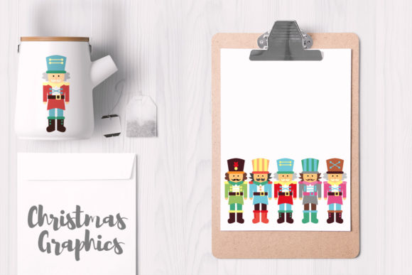 Print on Demand: Fantastic Christmas Bundle Graphic Illustrations By Revidevi - Image 3