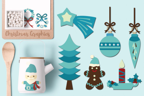 Print on Demand: Fantastic Christmas Bundle Graphic Illustrations By Revidevi - Image 8