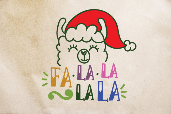 Print on Demand: Fat Llama Script & Handwritten Font By Illustrator Guru - Image 2