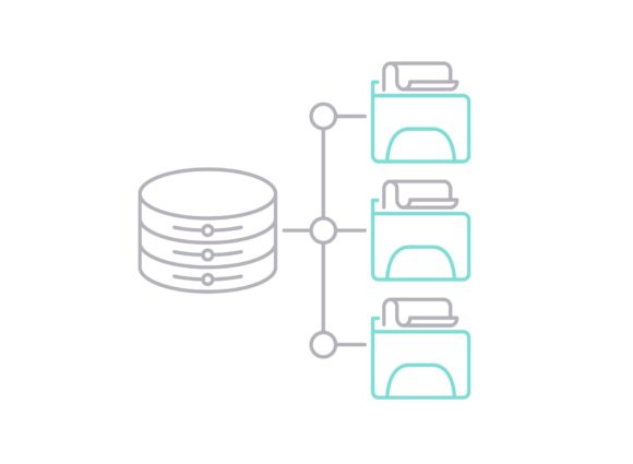 Print on Demand: File Network Graphic Icons By Iconika