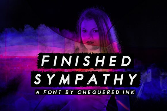 Print on Demand: Finished Sympathy Display Font By Chequered Ink