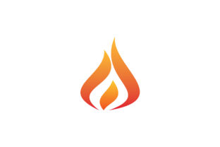 Flame Logo Graphic Logos By Acongraphic