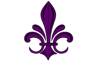 Fleur Du Lis in Festival Colors Craft Design By Creative Fabrica Crafts