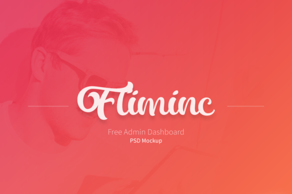Fliminc UI Kit Admin Dashboard Graphic UX and UI Kits By Creative Fabrica Freebies