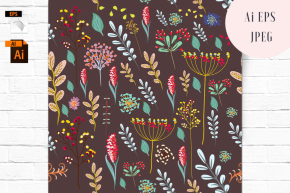 Floral Vector Seamless Pattern Graphic Patterns By fleurartmariia - Image 1